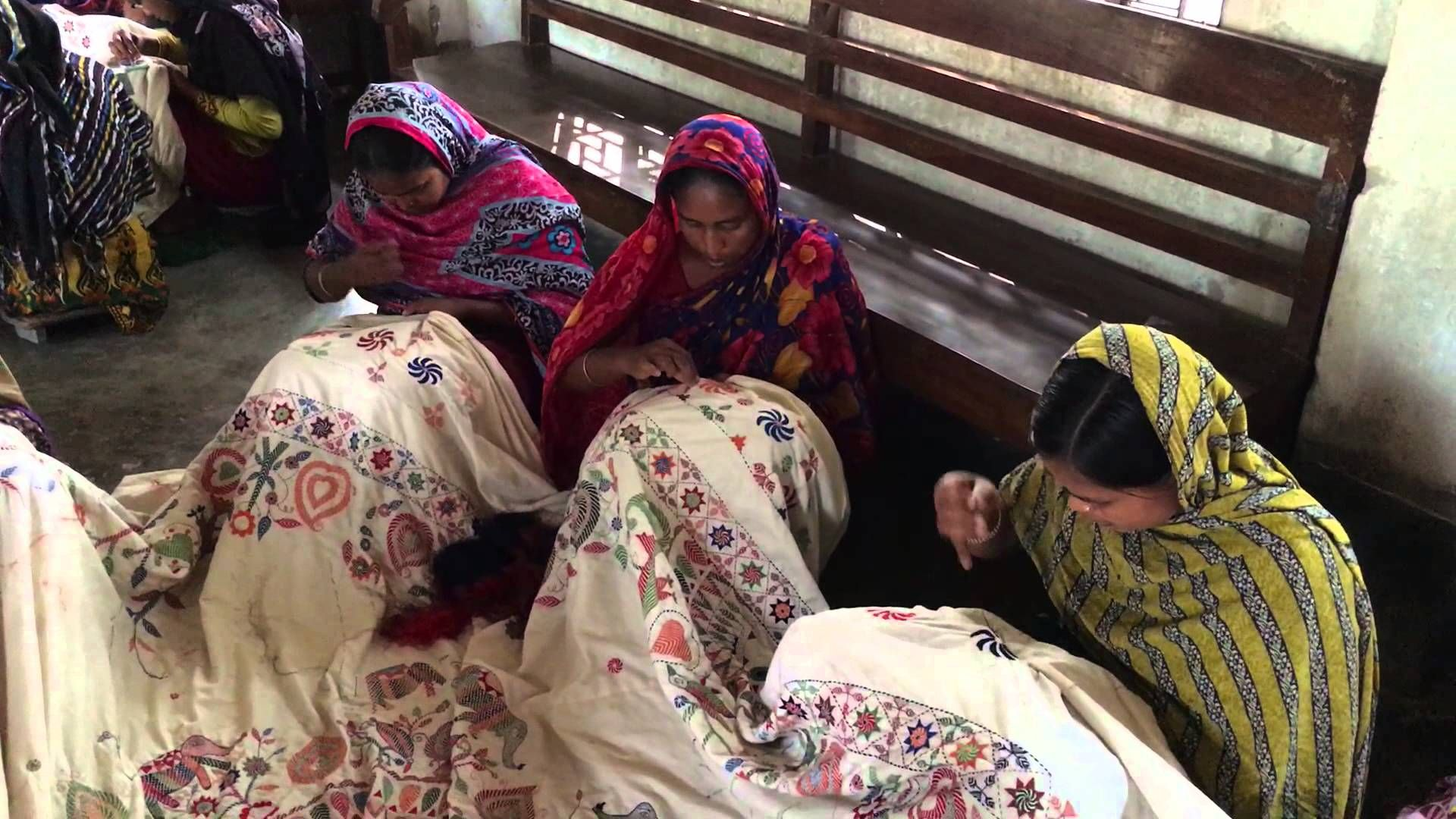 Providing a Workplace for the Rural Women Involved in Crafting