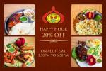 Delhi Darbar-Happy Hour Off